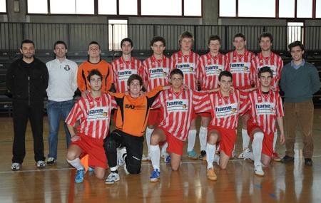 La rappresentativa CNU Cus Udine di calcio a 5