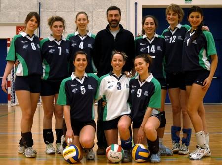 La rappresentativa CNU Cus Udine di pallavolo femminile
