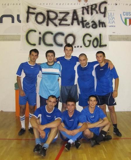 N.R.G. Team (De Cicco, Veleski, Gjoka, Kushta, Zeneli, Dzukleski, Bebeci, Imeri)