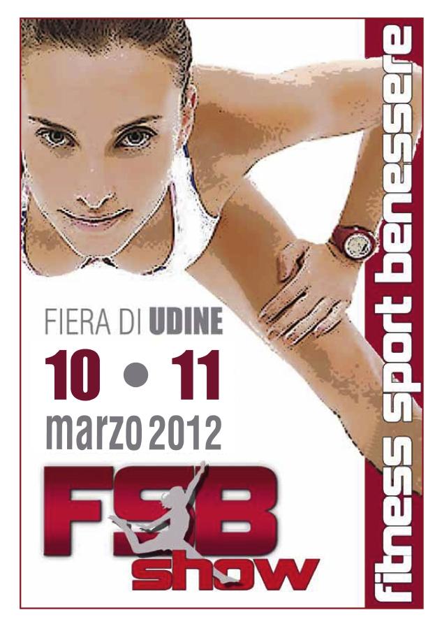 Fsb show il fitness lo sport il benessere in fiera for Fiera di udine