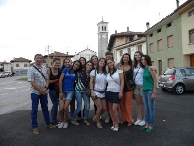 Le atlete dell'Atomat CUS Udine