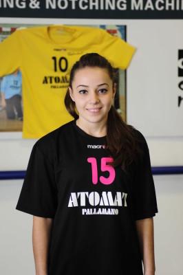 L'under 16 Dayana Dragomirescu