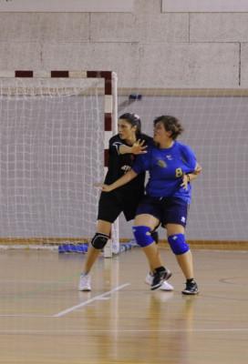 Jessica Franzil (Atomat CUS Udine) in azione difensiva