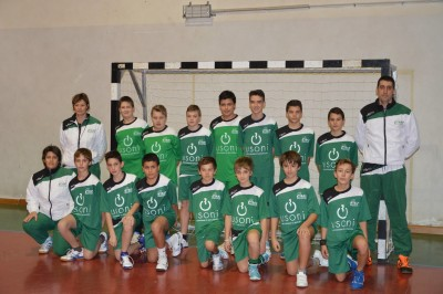La squadra under 14 della Jolly Handball