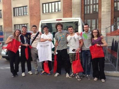 Gli atleti di Judo arrivati a Milano e pronti per le gare!