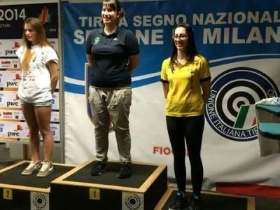 Jasmine Copetti sul podio