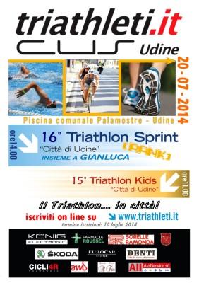 volantino triathlon udine 2014