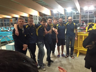 canoapolo cus udine youth 2015
