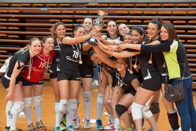 CUS Udine Volley femminile medagliate