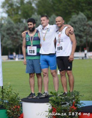 forgiarini podio oro disco