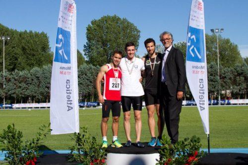 iurig podio bronzo atletica